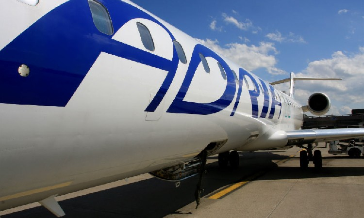 Самолеты Adria Airways, используемые Nordic Aviation Group. Фото: Airline.ee