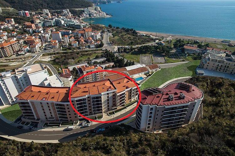 Черногория недвижимость red