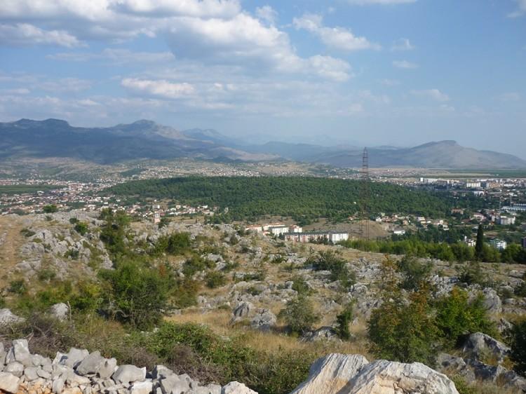 Холм Горица в городе Подгорица. Фото: Geolocation.ws