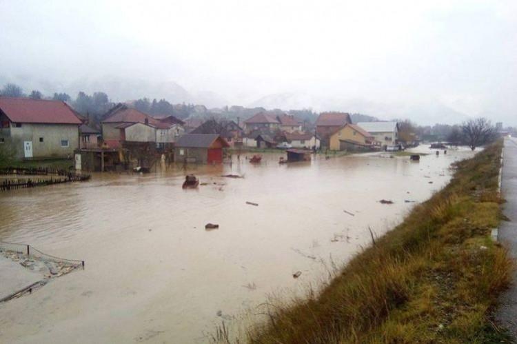 В ноябре 2016 г. Черногорию залили дожди
