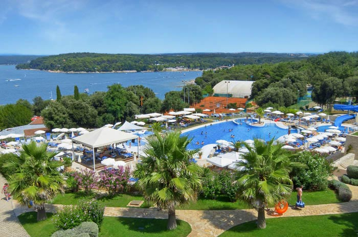 Отель Valamar Club Tamaris в Порече. Фото: Valamar.com