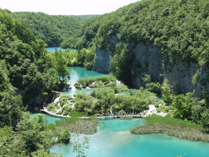 Плитвицкие озера. Фото: Facebook, The Plitvice Lakes National Park