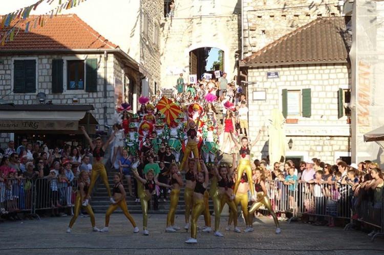 С 1 по 3 июня в Херцег-Нови пройдет XI Международный детский карнавал