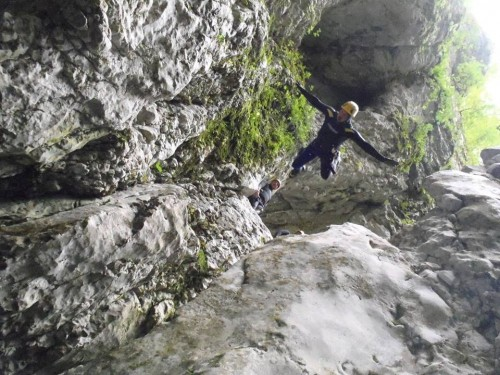 Каньон Невидио. Фото: Facebook.com/pages/Nevidio-Canyoning-Kanjon-Nevidio/122090381193144