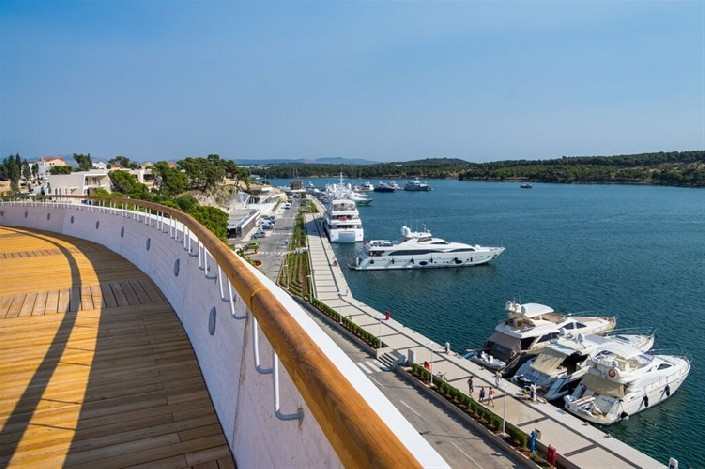 Курорт D-Resort Šibenik в Шибенике. Фото: D-Resort Šibenik