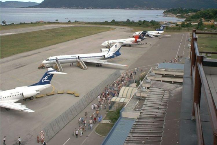 Аэропорт в Тивате зафиксировал рекордный пассажиропоток
