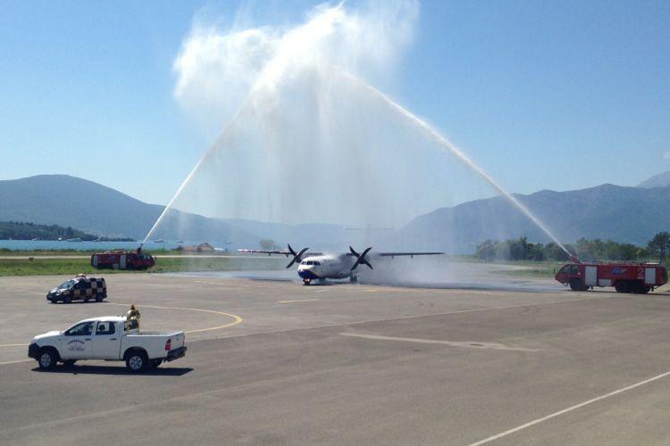В 2016 году услугами аэропорта в Тивате воспользовались почти миллион пассажиров
