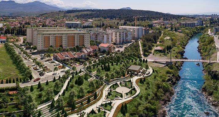 В Подгорице построят жилой комплекс с променадом на берегу реки