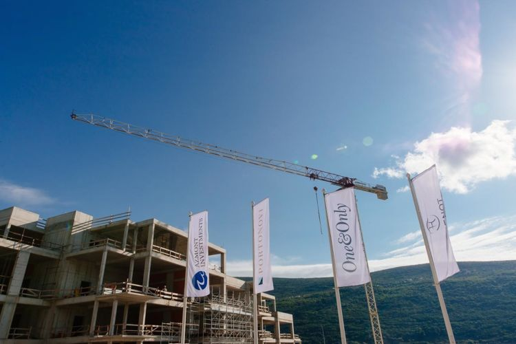 В Черногории резко выросла строительная активность