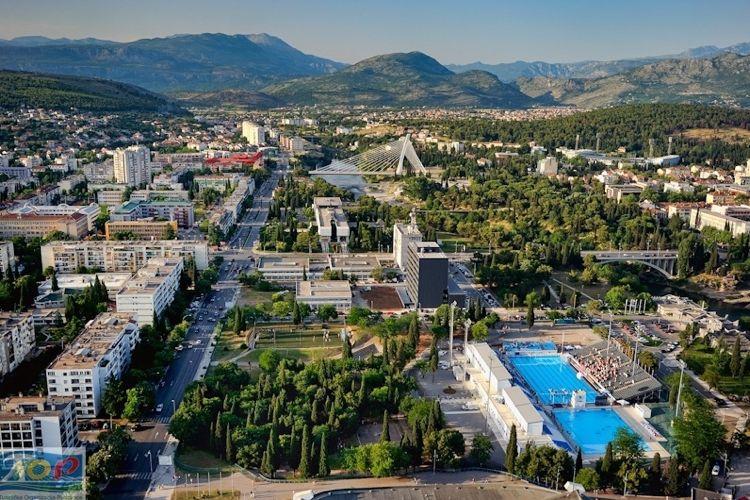 Столица Черногории — в топ-10 самых солнечных городов Европы